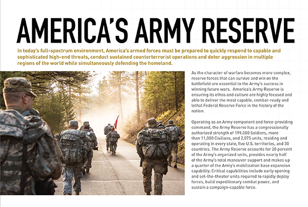 Army Reserve At A Glance intro