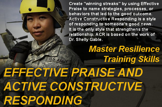 Master Resilience Training