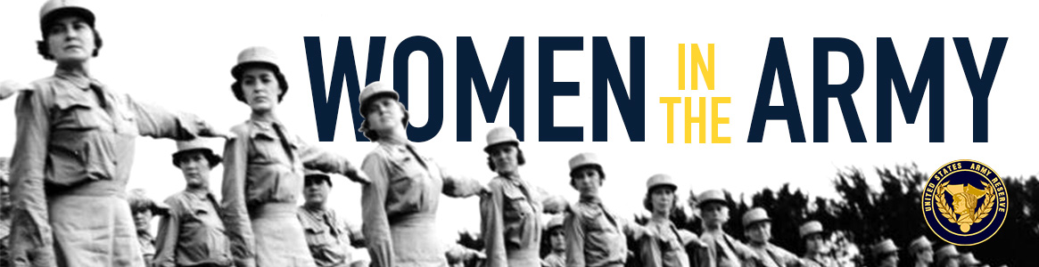 Women in the Army Banner