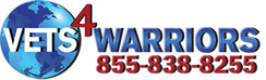 VETS4WARRIORS logo