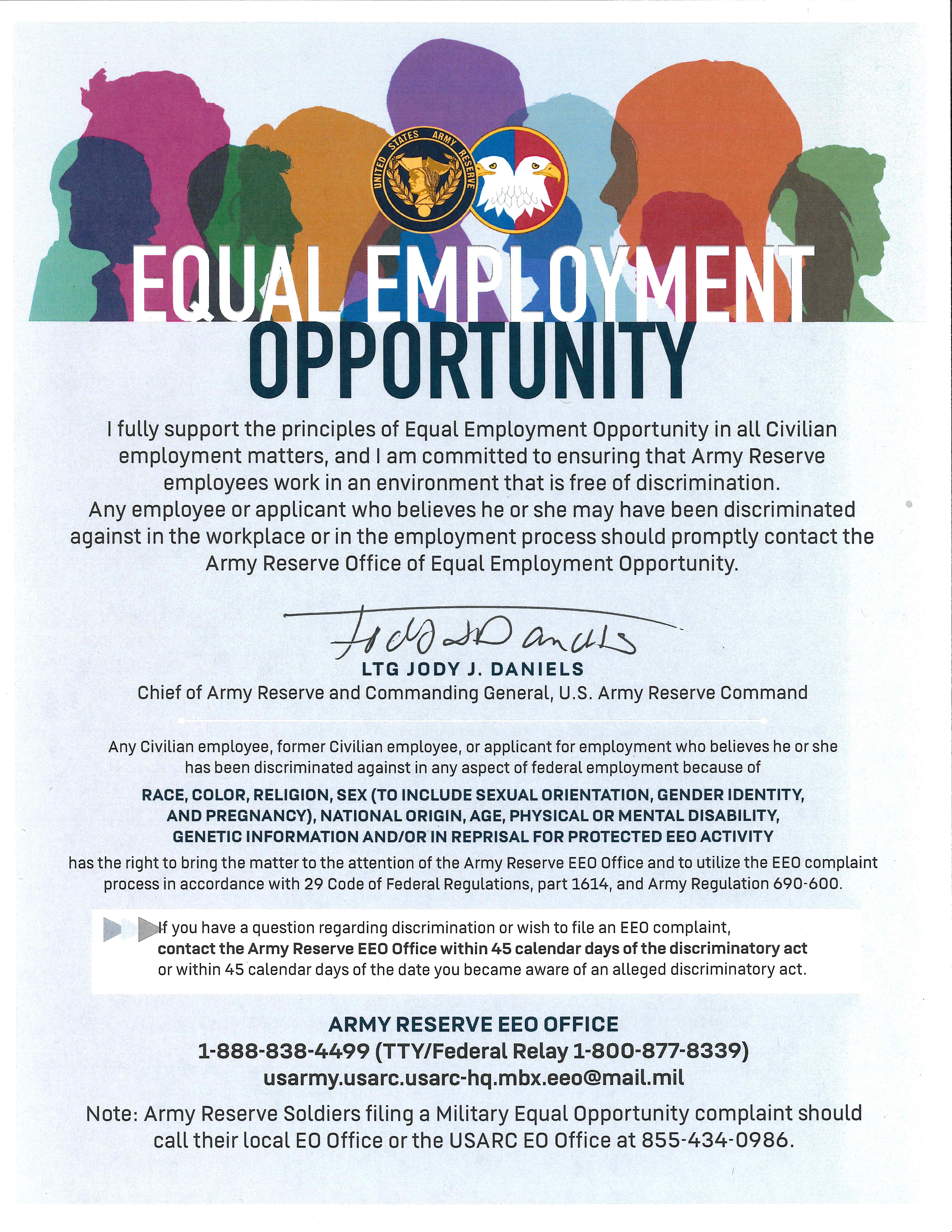 Equal Employment Opportunity Poster