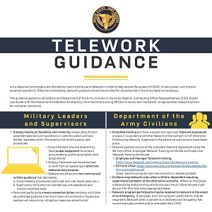 Telework Guidance