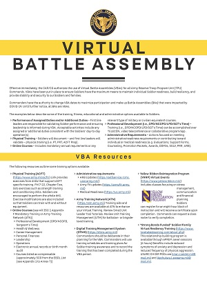 Virtual Battle Assembly
