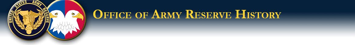 Army Reserve History Symbols