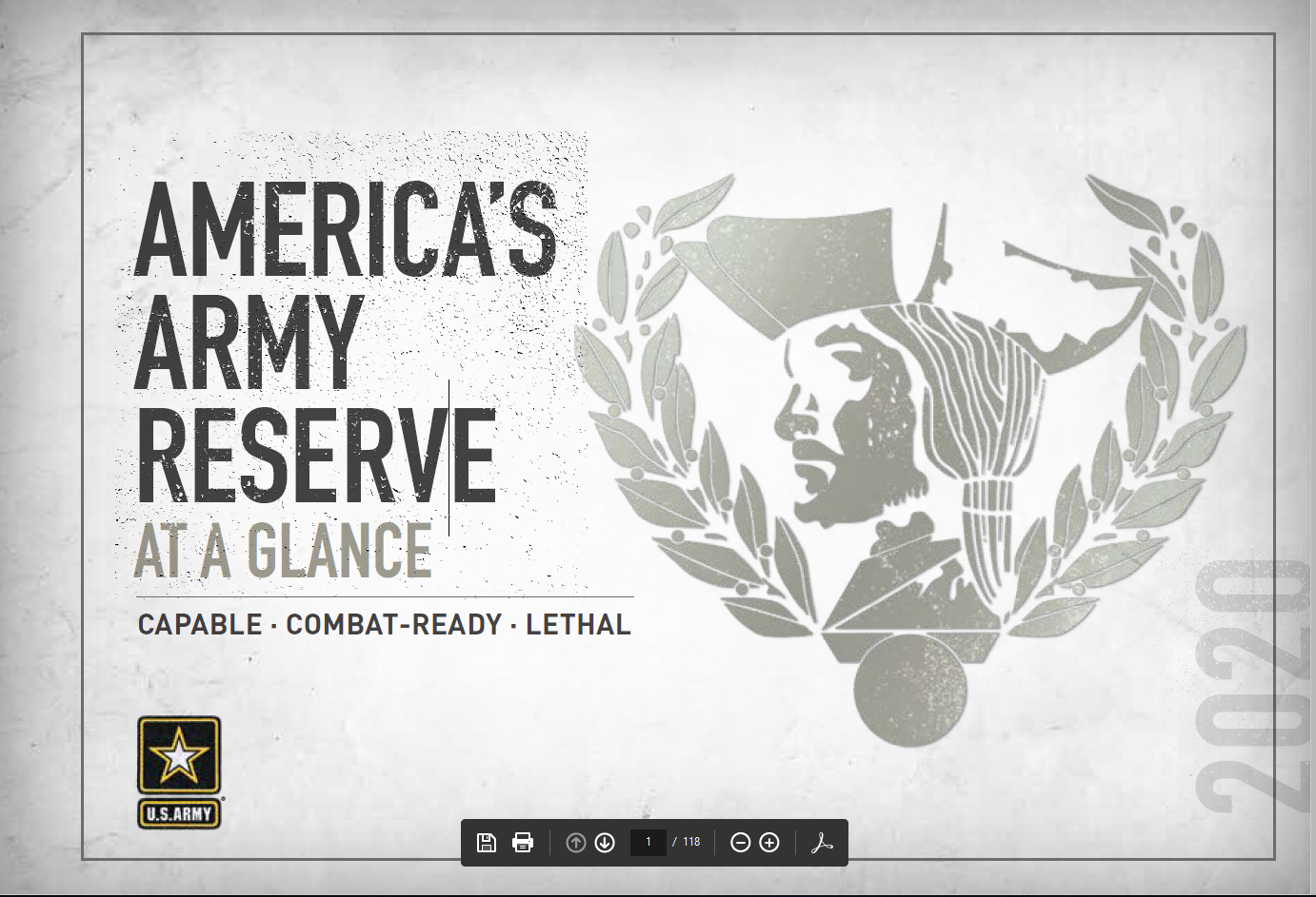 U.S. Army Reserve At A Glance